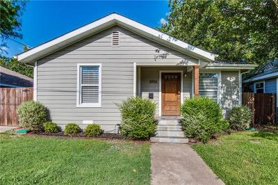 Dallas County Single Family Home For Sale: 6906 Webster Street