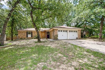 Azle Single Family Home Active Option Contract: 412 Windwood Court