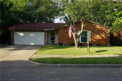 Forney Single Family Home For Sale: 414 Southlake Drive