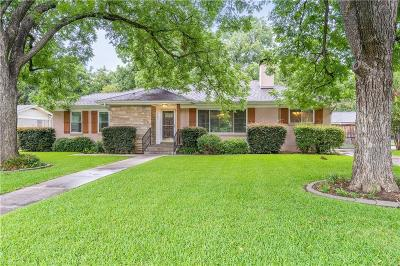 Fort Worth Single Family Home For Sale: 3651 W Biddison Street