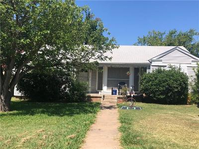 Archer County, Baylor County, Clay County, Jack County, Throckmorton County, Wichita County, Wise County Single Family Home For Sale: 3108 Barrett Place