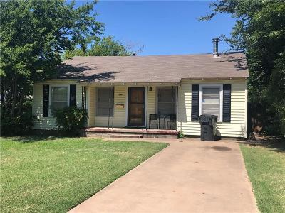 Archer County, Baylor County, Clay County, Jack County, Throckmorton County, Wichita County, Wise County Single Family Home For Sale: 3106 Barrett Place