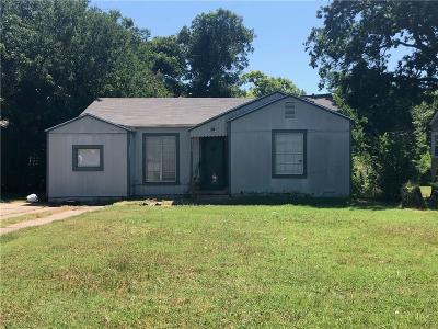 Archer County, Baylor County, Clay County, Jack County, Throckmorton County, Wichita County, Wise County Single Family Home For Sale: 3219 Glenwood Avenue