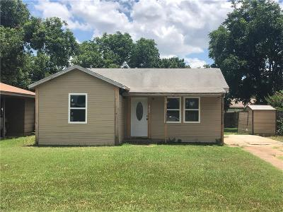 Archer County, Baylor County, Clay County, Jack County, Throckmorton County, Wichita County, Wise County Single Family Home For Sale: 2955 Lavell Avenue