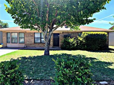 Abilene Single Family Home Active Option Contract: 3710 Scranton Lane