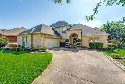 North Richland Hills Single Family Home Active Option Contract: 7708 Bridlewood Court