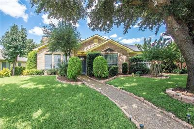 Coppell Single Family Home Active Option Contract: 136 Mesquitewood Street
