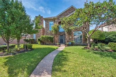 Plano Single Family Home Active Option Contract: 2224 Dampton Drive
