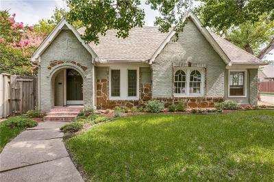 Dallas Single Family Home For Sale: 5639 Merrimac Avenue