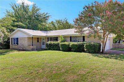 Single Family Home For Sale: 8000 Standley Street