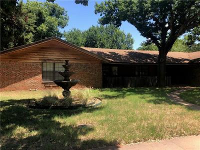 Archer County, Baylor County, Clay County, Jack County, Throckmorton County, Wichita County, Wise County Single Family Home For Sale: 4514 Shady Lane