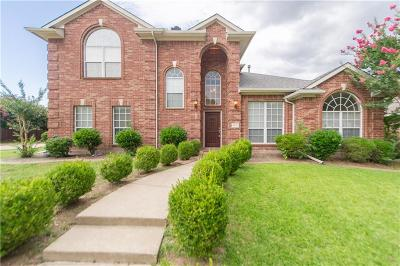 Allen Single Family Home For Sale: 1317 Canterbury Drive