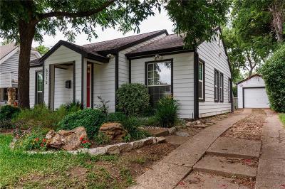 Dallas Single Family Home For Sale: 6215 Llano Avenue