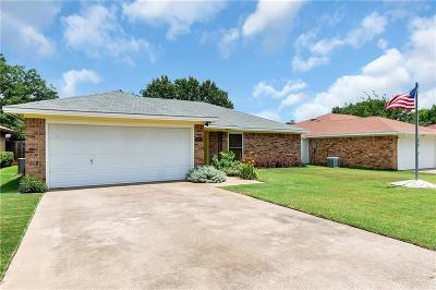 Fort Worth Single Family Home For Sale: 3804 Memphis Lane