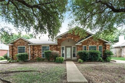 Allen Single Family Home Active Option Contract: 708 Deep Well Drive