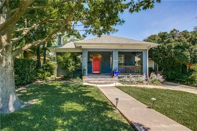 Single Family Home For Sale: 6009 Palo Pinto Avenue