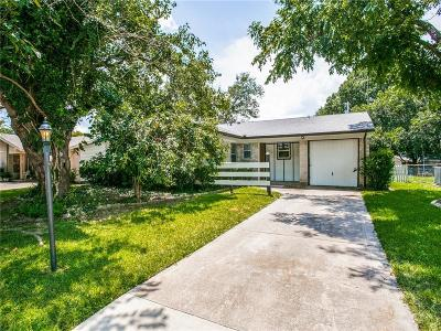 Plano Single Family Home Active Option Contract: 1315 Crestridge Drive