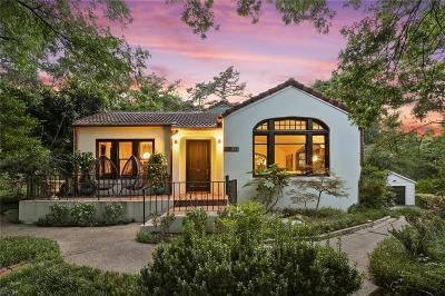Dallas Single Family Home For Sale: 303 S Ravinia Drive