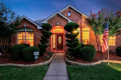 Frisco Single Family Home Active Option Contract: 4015 Bryson Drive