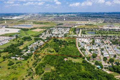 Lewisville Commercial Lots & Land For Sale: 704 Holfords Prairie Road