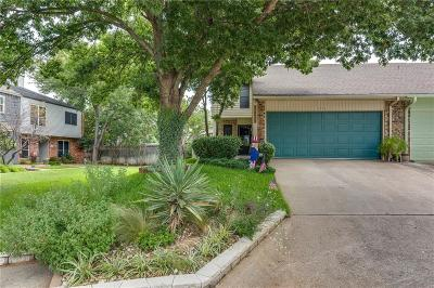 Grapevine Single Family Home Active Option Contract: 1656 Choteau Circle