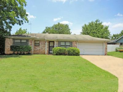 Euless Single Family Home Active Option Contract: 812 Royce Drive