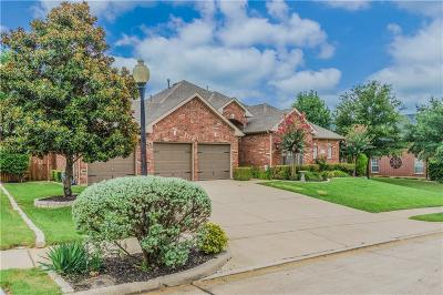 Flower Mound Single Family Home Active Option Contract: 3717 Hillsdale Drive