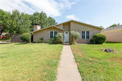 Garland Single Family Home Active Option Contract: 2909 Royalty Drive