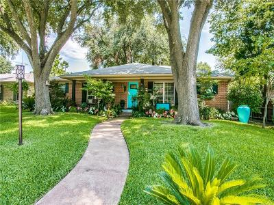 Dallas Single Family Home For Sale: 5210 Banting Way
