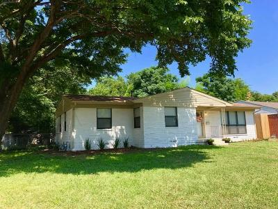 Irving Single Family Home For Sale: 1321 Ronne Drive