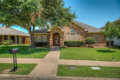 Wylie Single Family Home Active Option Contract: 402 Kylie Lane