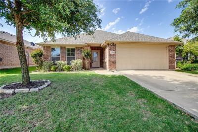 Waxahachie Single Family Home Active Option Contract: 114 Oregon Trail