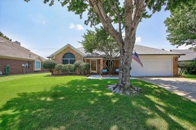 Keller Single Family Home Active Option Contract: 594 Monterey Drive