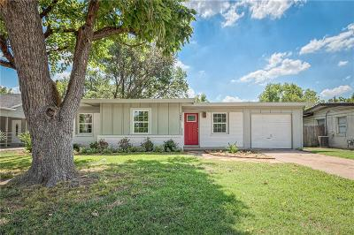 Irving Single Family Home Active Option Contract: 1606 W Grauwyler Road