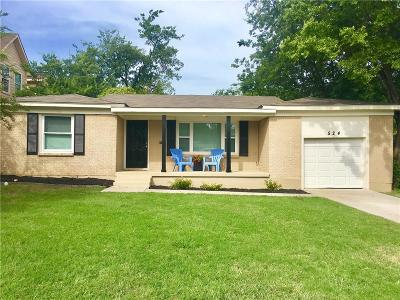 White Settlement Single Family Home Active Option Contract: 524 Crandle Drive