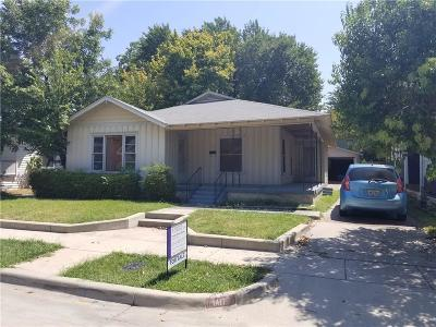 Fort Worth Single Family Home For Sale: 1417 S Henderson Street