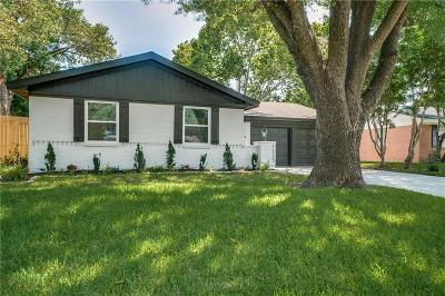 Richardson Single Family Home For Sale: 1225 Cloverdale Drive