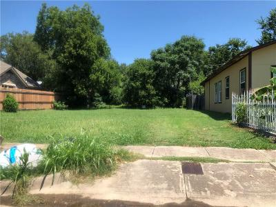Fort Worth Residential Lots & Land For Sale: 1125 E Humbolt Street