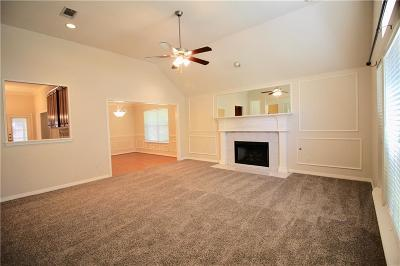 Mansfield Single Family Home Active Option Contract: 2101 Chrisman Trail