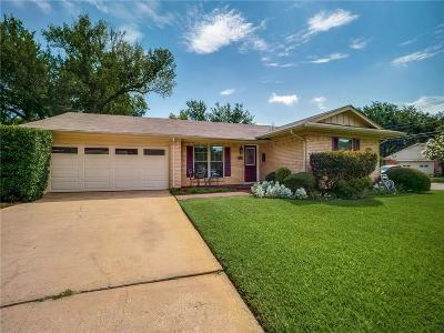 Dallas County Single Family Home For Sale: 7131 Rutgers Drive