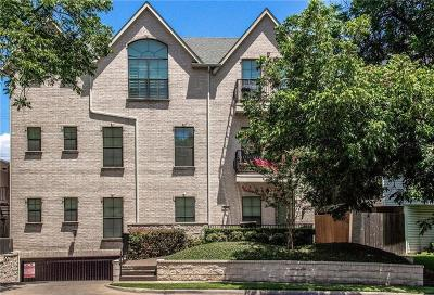 Highland Park, University Park Condo For Sale: 3208 Daniel Avenue #B