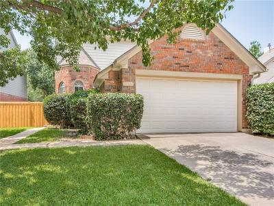 Carrollton Single Family Home Active Option Contract: 3803 Cibola Trail