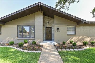 Single Family Home For Sale: 3929 Port Royal Drive