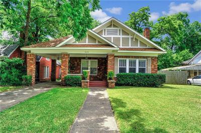 Sherman Single Family Home For Sale: 502 W Belden Street