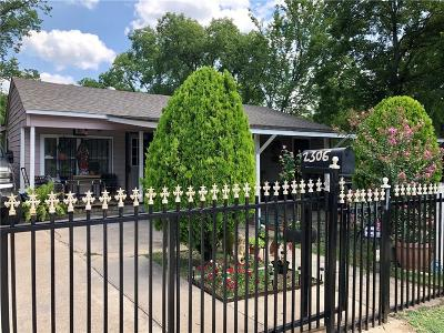 Single Family Home For Sale: 2306 Custer Drive
