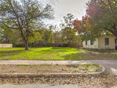 Fort Worth Residential Lots & Land For Sale: 1952 Portland Avenue
