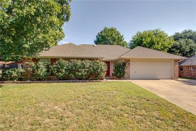 Benbrook Single Family Home Active Option Contract: 1409 Tobie Layne Street