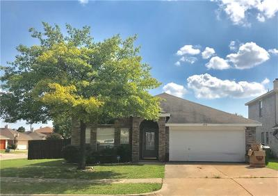 Garland Single Family Home Active Option Contract: 4737 Grovetree Lane