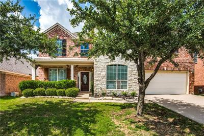 Fort Worth Single Family Home For Sale: 9837 Crawford Farms Drive