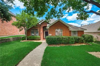 Lewisville Single Family Home Active Option Contract: 449 Vista Noche Drive